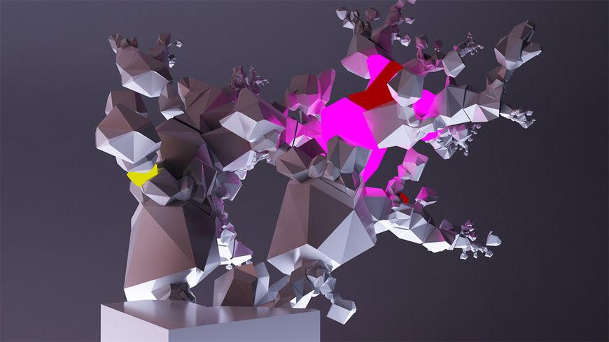 IMAGE: Rubik's cube colours