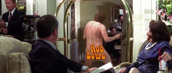 IMAGE: Still – nudity blocking - butt rob lowe