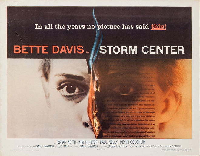 IMAGE: Poster for Storm Center