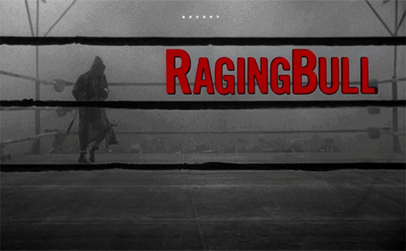IMAGE: Raging Bull Title Card