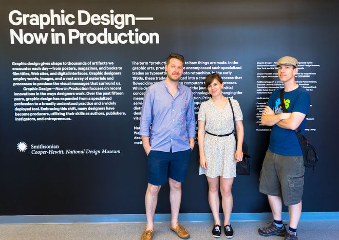 Graphic Design: Now in Production in NYC, (from left) Editor Will Perkins, Managing Editor Lola Landekic and Editor-in-Chief Ian Albinson