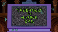 The Simpsons: Treehouse of Horror XXIV