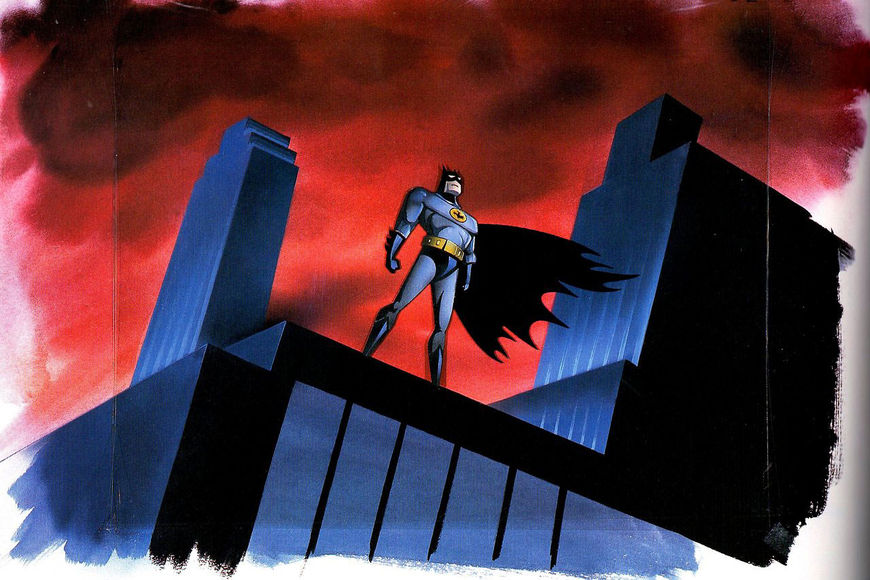 IMAGE: Batman: The Animated Series Production Illustration
