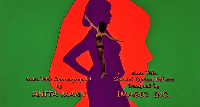 IMAGE: Foxy Brown Main Title Design credits frame