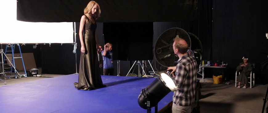 IMAGE: BTS Photo 01 –Woman in dress