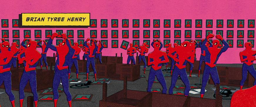 IMAGE: Still - Spiderman office 2