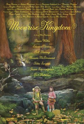 Image: Moonrise Kingdom forest poster