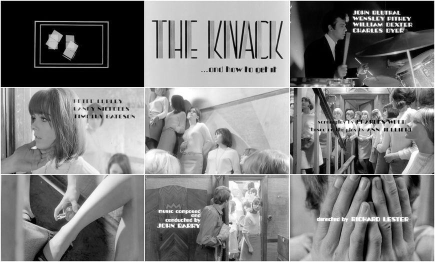 VIDEO: Title Sequence – The Knack (1965) main titles