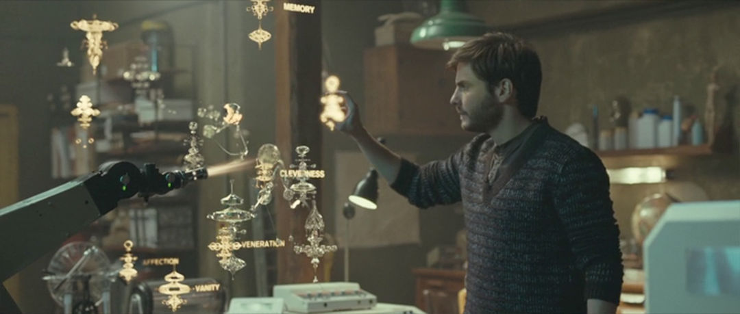 """IMAGE: Still from movie - """"Hand Up"""" interface 1"""