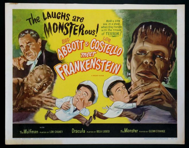 IMAGE: Abbott and Costello Meet Frankenstein original poster