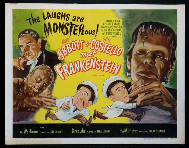 IMAGE: Abbott and Costello Meet Frankenstein original poster