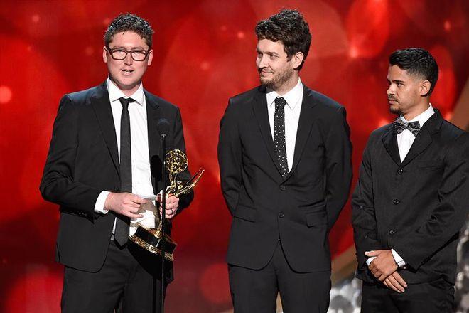 IMAGE: Elastic Emmy Win Photo
