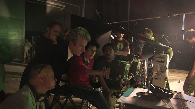 IMAGE: Photo – Rachel Talalay directing Doctor Who