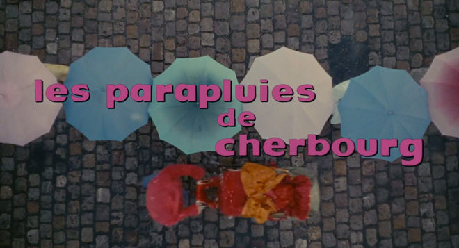 VIDEO: Title Sequence – The Umbrellas of Cherbourg (1964)