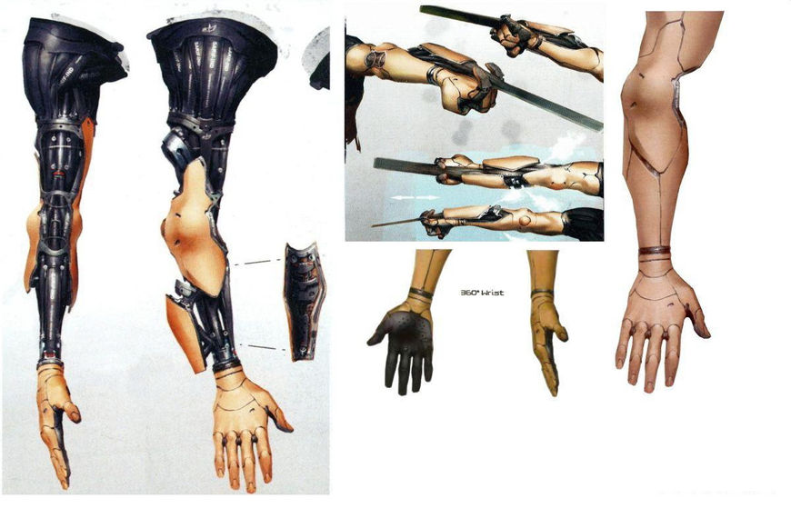 Jensen arm concepts