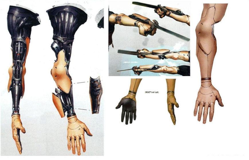Jensen arm concepts