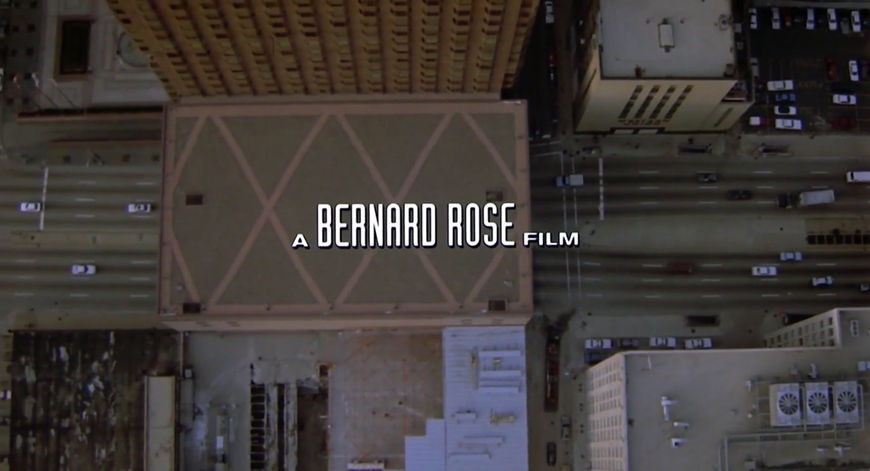 IMAGE: Still from title sequence - Bernard Rose