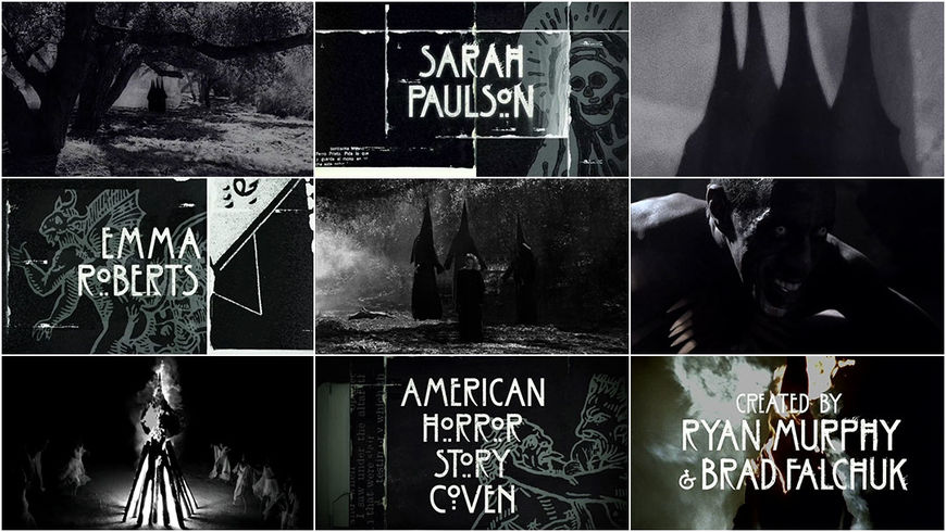 VIDEO: Title Sequence – American Horror Story: Coven (2013)