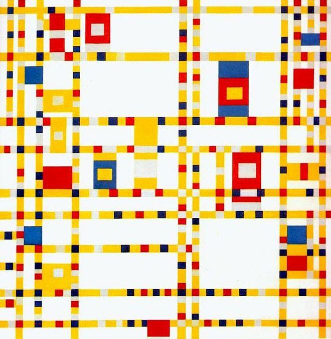 IMAGE: Mondrian's Broadway Boogie-Woogie
