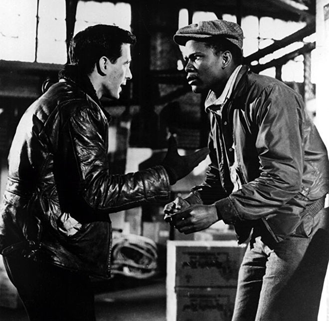 IMAGE: Edge of the City (1957) John Cassevetes and Sidney Poitier