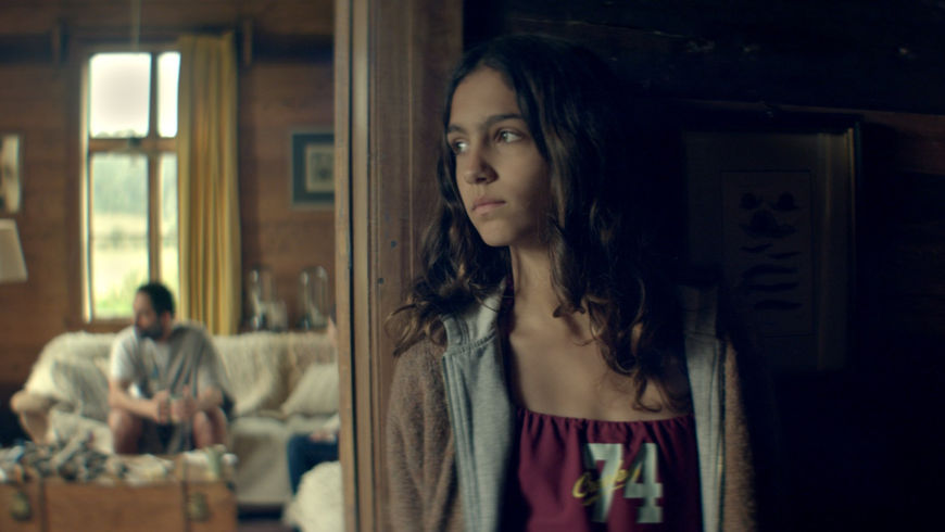 IMAGE: Still - Tamara in doorway