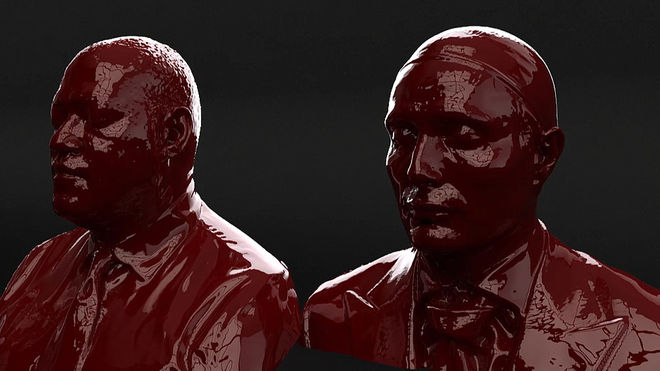 IMAGE: Hannibal Texture Test