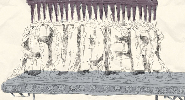 Super main title drawing