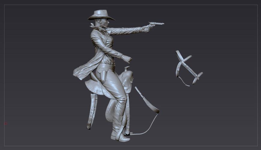 IMAGE: Westworld Cowgirl