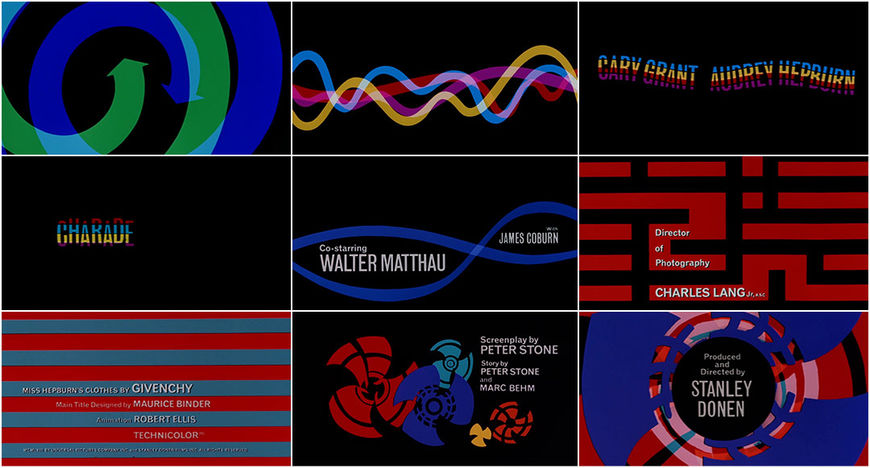 VIDEO: Title Sequence –Charade (1963)