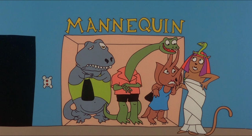 VIDEO: Title Sequence – Mannequin by Sally Cruikshank