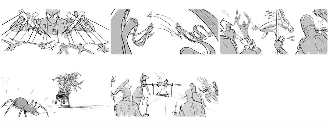 IMAGE: Vignette storyboard drawings