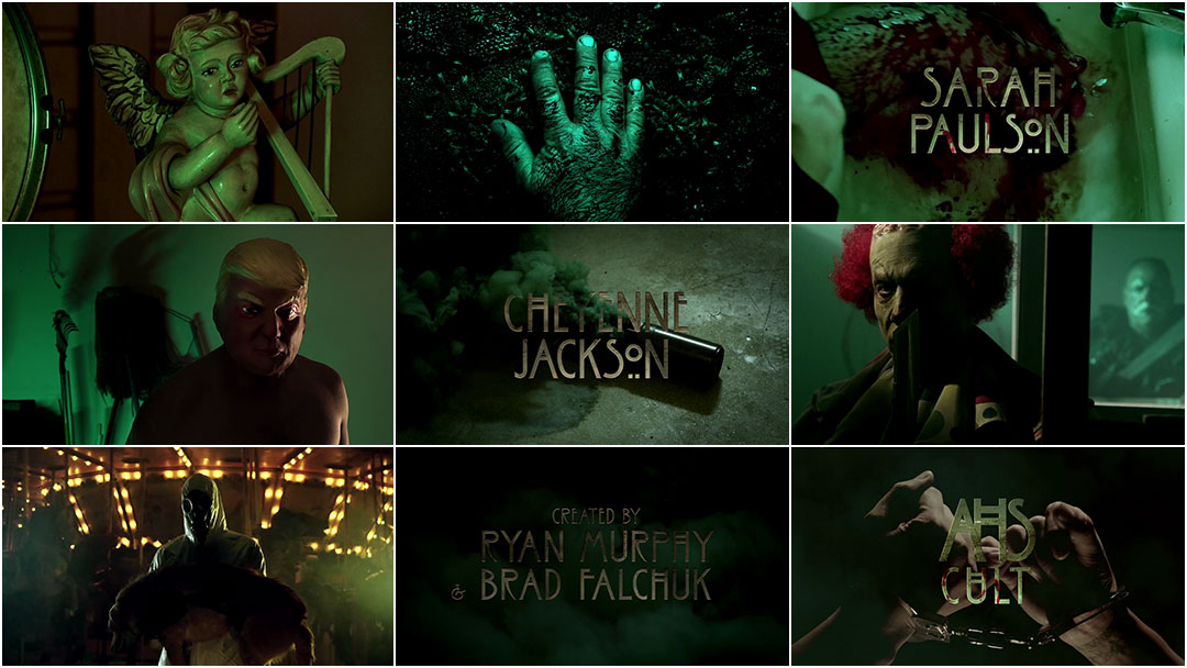 VIDEO: Title Sequence – American Horror Story: Cult (2017)