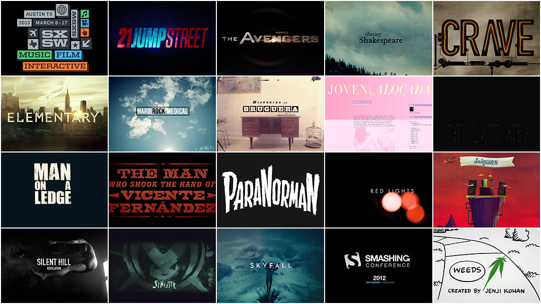 SXSW 2013 Film Awards: Title Design Finalists