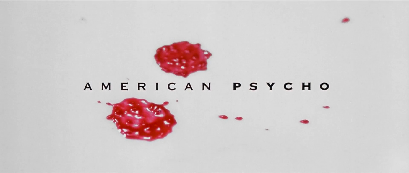 American psycho 2000 art of the title reheart Gallery