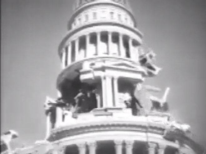 VIDEO: San Francisco (1936) earthquake scene