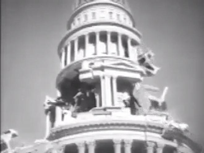 VIDEO: San Francisco (1936) earthquake scene