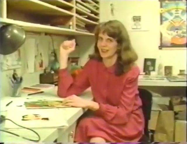 VIDEO: Clip –The Animators short film featuring Sally Cruikshank