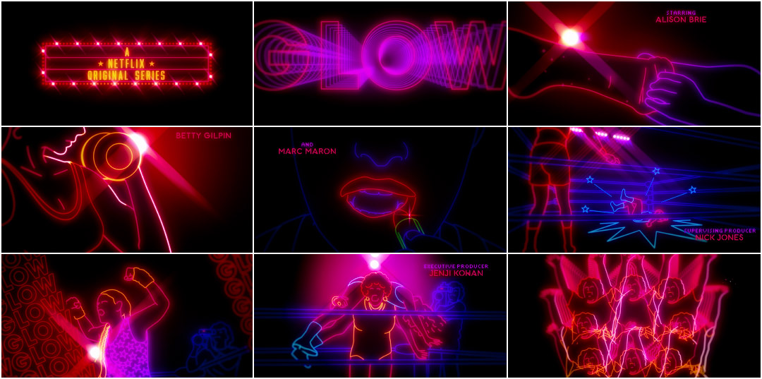 glow 2017 � art of the title