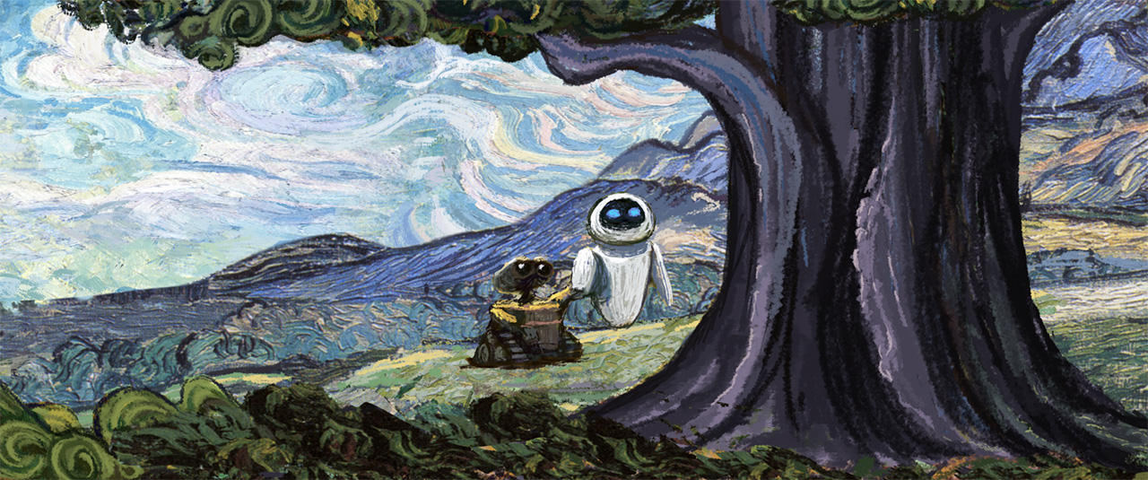 WALL·E (2008) — Art of the Title