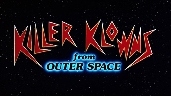 Killer klowns from outer space 1988 art of the title for Outer space studios