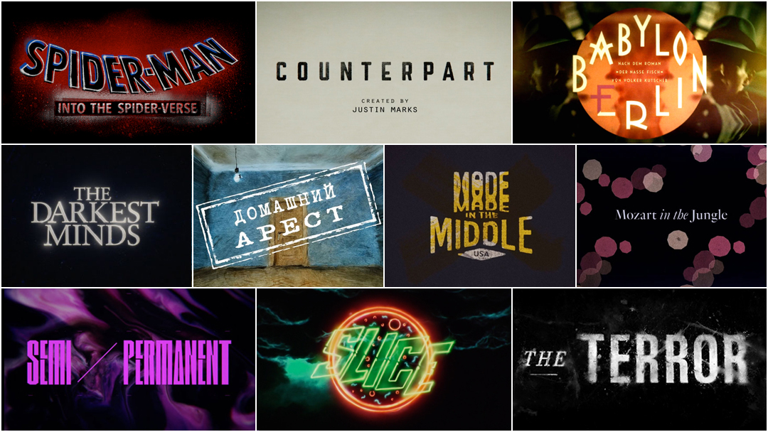 Top 10 Title Sequences of 2018